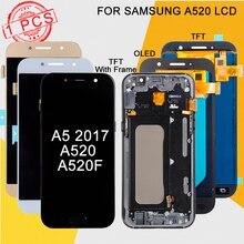 Рекламный дисплей Dinamico A5 2017 для Samsung Galaxy A520 LCD