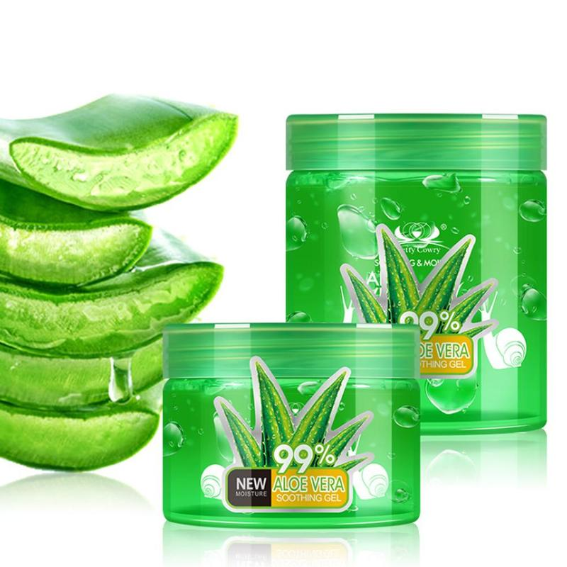 Aloe Vera Gel Natural Snail Face Creams Moisturizer Acne Treatment Gel For Skin Repairing Smoothing Facial Cream 150/200/300ml