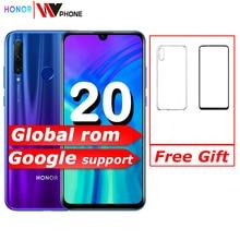 Original Honor 20i honor 20 lite Mobile Phone 6.21 inch Andr