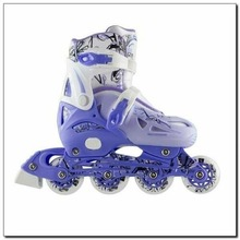 New Fashion Skateboard Shoes Children's Shoes Set 4 In 1 Size M (35-38) Boys and Girls Single Row Skates Skates