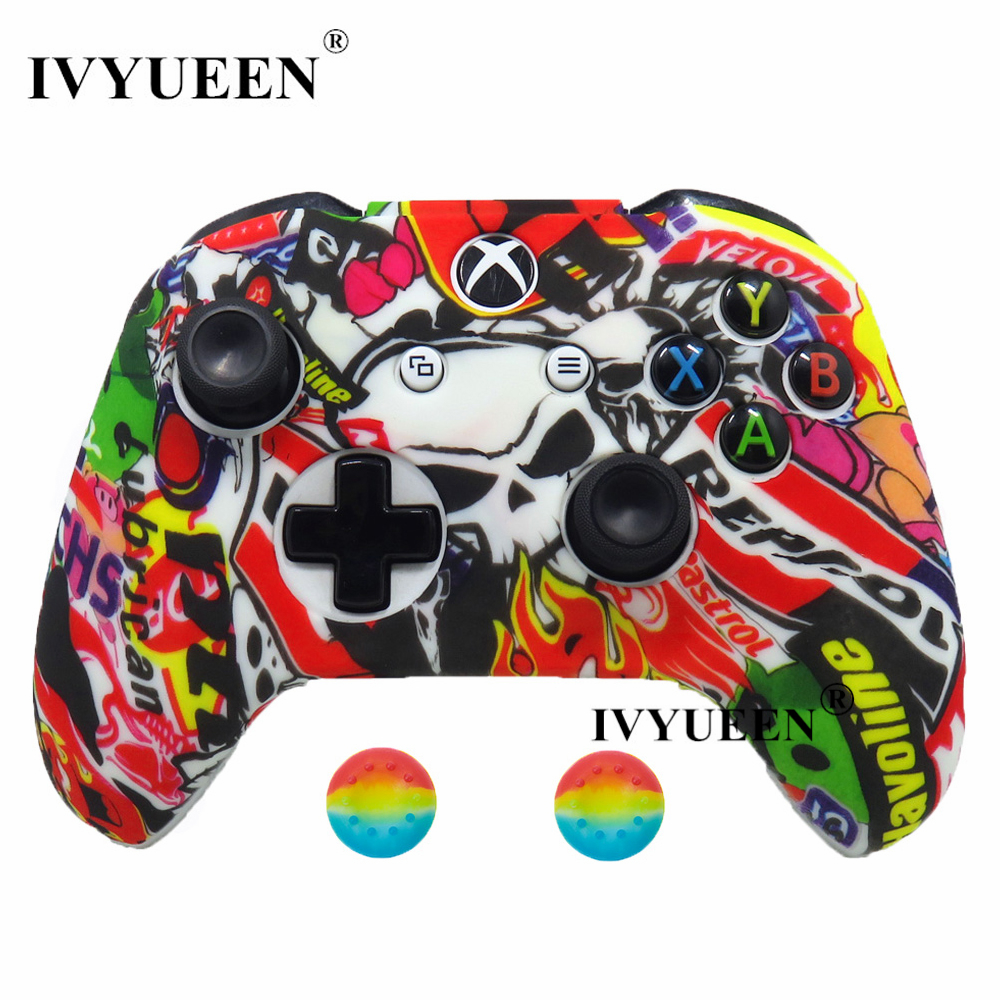 for Xbox one S X controller silicone case kin 21