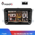 Podofo Auto Multimedia-Player 7 ''Für VW Android Spiegel Link Auto Radios Bluetooth Mp5 Audio Player Audio Stereo 2DIN radio Coche