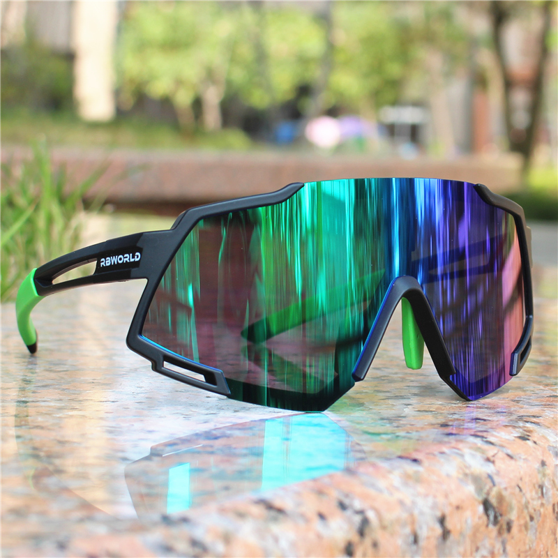 Sunglasses Men Goggles Eyewear Mtb Polarized Cycling Sport-Road Ciclismo Gafas Oculos title=