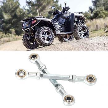 2pcs 150mm -170mm 8mm Steering Tie Rod Kit Ball Joint for 49cc Electric Mini ATV Go Kart Metal Quad Bike Parts