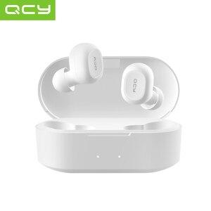 QS2 TWS наушники Bluetooth V5.0 3D стерео Спортивные Беспроводные наушники с двойным микрофоном, автоматическое подключение