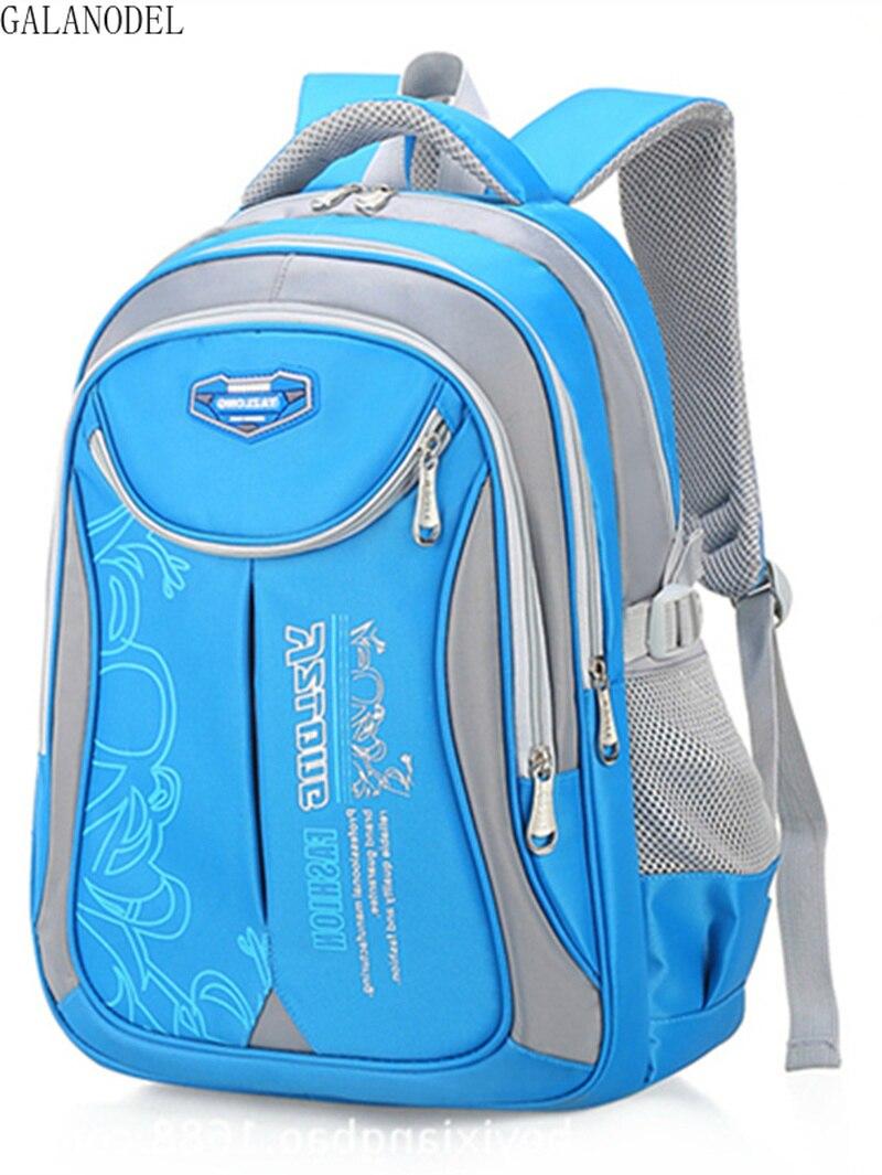 School Bags For Students Boys Girls Backpacks Waterproof Schoolbags Book Bag Kids Orthopedic Backpack