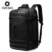 Мужской Дорожный рюкзак для ноутбука ozuko многофункциональная