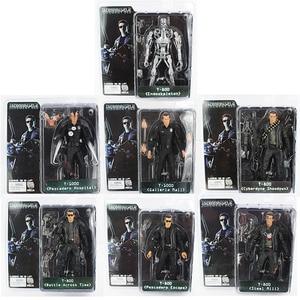 Image 1 - NECA Terminator T 800 T 1000 Endoskeleton PVC Action Figure Sammeln Modell Spielzeug