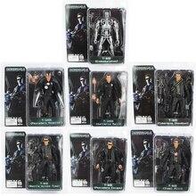 NECA The Terminator T 800 T 1000 Endoskeleton PVC Action Figure Collectible Model Toy