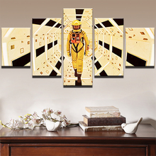 Home Decor Wall Art Framework Canvas Paintings Room Decoration 5 Pieces A Space Odyssey Movie Characters Modern Posters