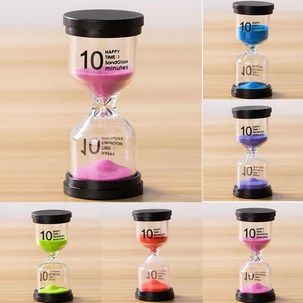 Ornamentos de mesa 5/10/15/30 minutos presente do miúdo do agregado familiar cozinha decorativa temporizador areia relógio ornamentos temporizador areia