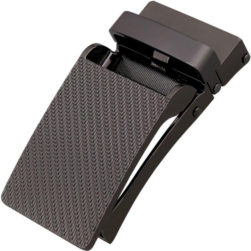 Fashion Men's Business Alloy Automatic Buckle Unique Men Plaque Belt Buckles 3.1cm Ratchet Men Apparel Accessories LY155-1767-1