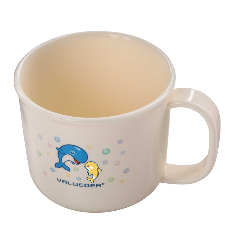 Wei Lun Seoul Cute Milk Cup CHILDREN'S Cups Baby Toothbrush Cup Baby To Drink Glass Plastic Tooth Mug