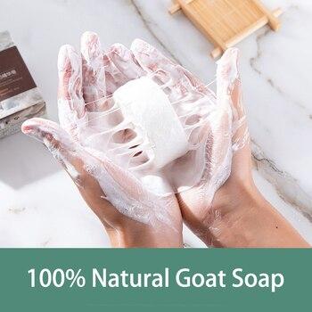2020 pin up goat milk soap Natural Silk Foam Best Wash Bath Oil Control Remove Mites & Blackheads & Pimple & Acne