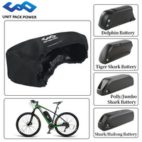 Ebike Hailong Battery's Water Proof Bag Cover Mud Anti Cover for Hailong/ Tiger Shark/ Dolphin/ Polly/Jumbo Style Batteries|Electric Bicycle Accessories| |  -
