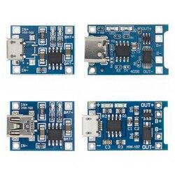 TP4056 + защита двойной функции 5V 1A Micro USB 18650 литиевая батарея зарядное устройство Модуль