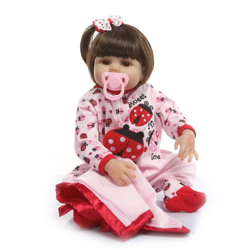 NPK All Silica Gel Infant Doll Cute Animal Clothing Children Accompany Toy Birthday Gift