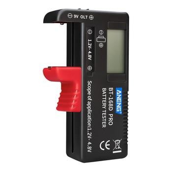 ANENG BT-168 PRO probador de tipo de pantalla Digital batería comprobador capacidad de la batería herramienta de diagnóstico comprobación DC AAA AA pila de botón