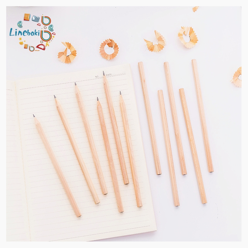 5pcs/set Wood Pencils Black Lead For Diy Builder Joiners Woodworking Black Pencil Stationery For Shool Office
