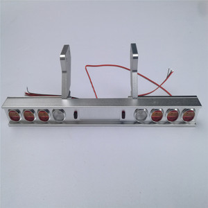 Image 2 - Trasporto Camion Del Metallo Fanale Posteriore Modificato Luce per Tamiya 1/14 Trattori 56319 56330 RC Parti del Camion Accessori