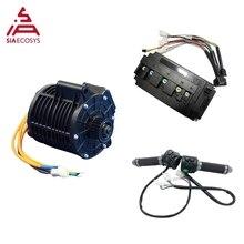 Qsmotor 138 3000W V2 Versie 72V 100KPH Nieuwe Uiterlijk Mid Drive Motor Power Trein Kits Met Motor Controller riem/Tandwiel Type