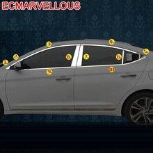 Accesorios Para Meubi Auto Araba Aksesuar Exterieur Sticker Decoratie Auto Accessoires Venster 2017 Voor Hyundai Elantra Verna