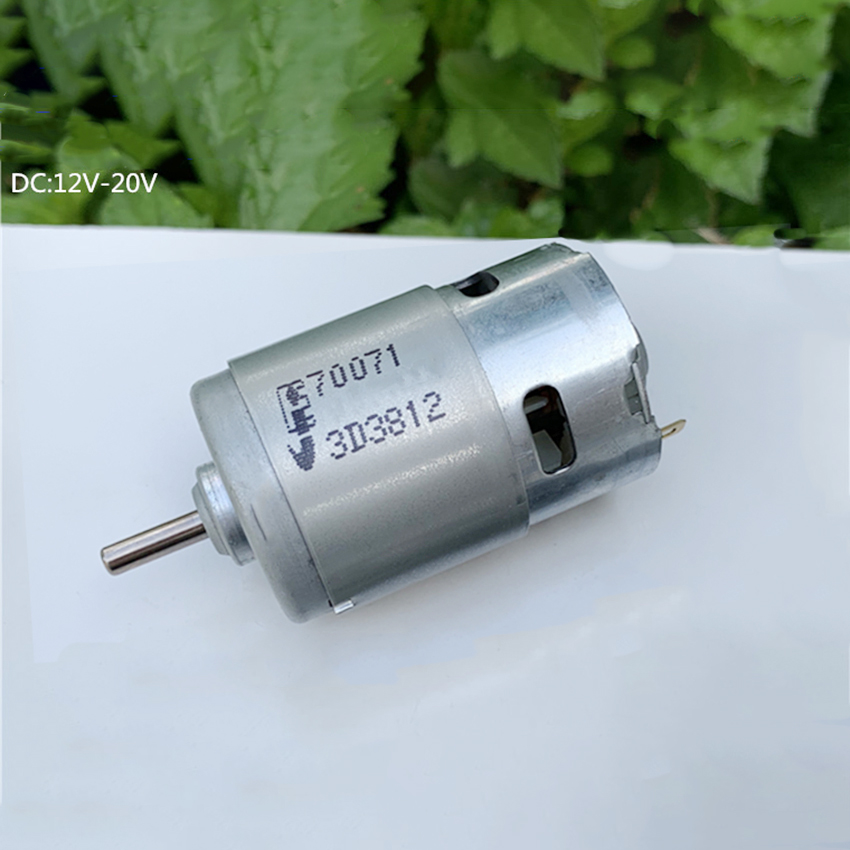 DC 6V 12V 18V 20500RPM High Speed Power Large Torque RS-550 Electric Drill Motor
