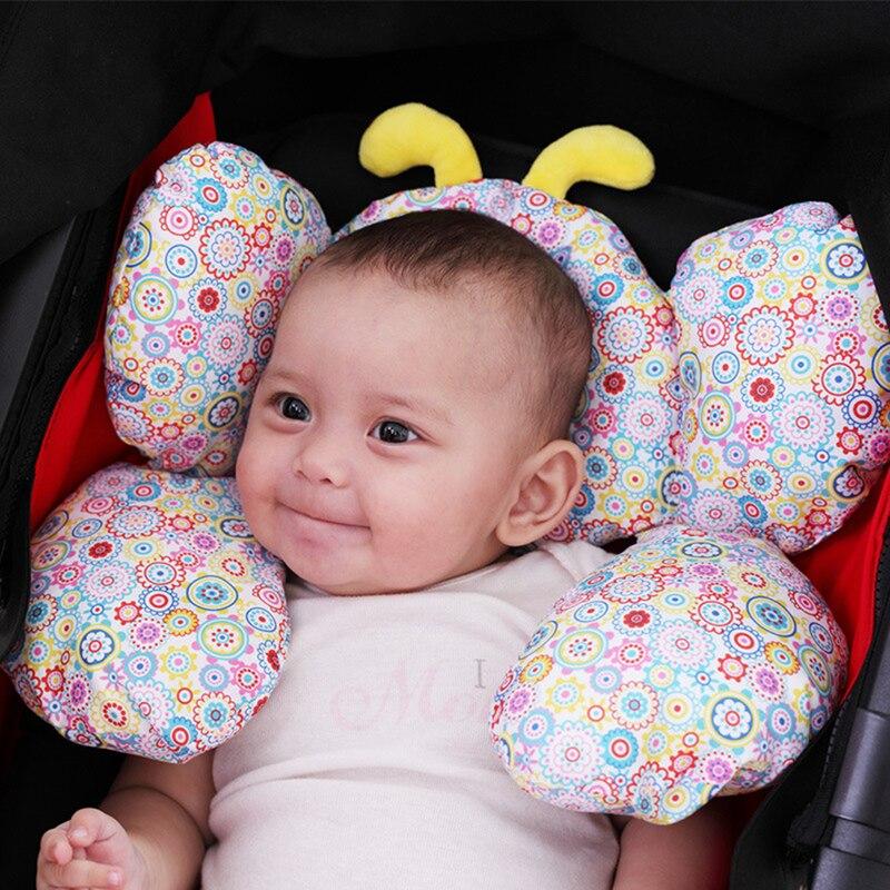 2019 algodao quente almofadas do bebe bonito infantil assento de carro do bebe travesseiro almofada carrinho