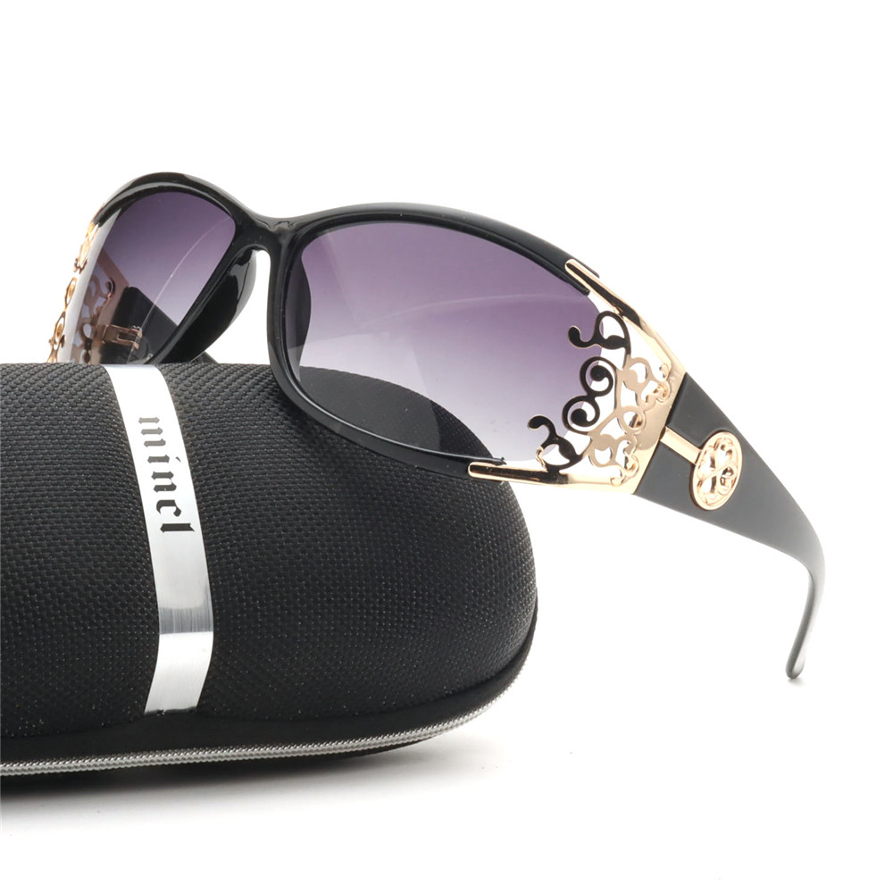 Солнцезащитные очки NX женские поляризационные, роскошные брендовые пикантные модные солнечные очки со стразами в стиле ретро, для вождения...