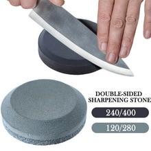 3 Stages (  Diamond Ceramic ) Steel Whetstone Kitchen Knives Sharpening Grindstone kitchen sharpener Stone Tools