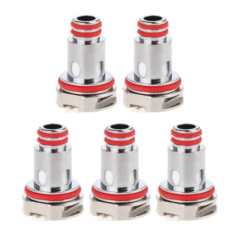 5Pcs/box Replacement Coils Metal Coil Head 0.3/0.4/0.6/1/1.2Ω For RPM MTL Mesh/Mesh/Triple/SC/Quartz Tank Atomizer