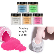 Nail Dipping Powders Gradient Glitter Decoration Lasting UV Gel Natural Dry Without Lamp Cure