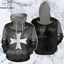 PLstar Cosmos All Over Printed Knights Templar 3d hoodies/Sweatshirt Winter autumn funny Harajuku Long sleeve streetwear-32