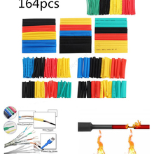 Sleeving-Tubing-Set Wire-Cable 164pcs-Set Heat-Shrink-Tube Shrinking Polyolefin Insulated