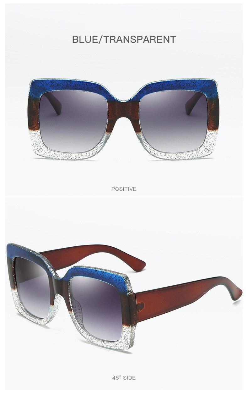 Luxury Brand Designer Square Sunglasses Shades For Women Vintage Women's Sun Glasses Cool Retro 2021 Trends Sunglasses Female gg (12)