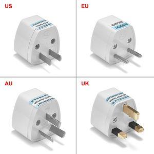 Image 1 - Universal AU UK US To EU Plug Adapter Converter USA Australian To Euro European AC Travel Adapter Power Socket Electric Outlet
