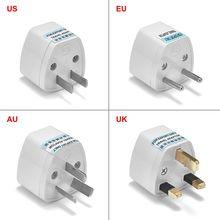 Đa Năng Âu Anh Mỹ EU Cắm Chuyển Đổi USA Úc Euro Châu Âu AC Du Lịch Ổ Cắm Nguồn Điện Ổ Cắm
