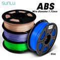 3D принтер цветной ABS 1,75 мм 1кг 3D нити с упаковкой коробки 100% без пузырьков
