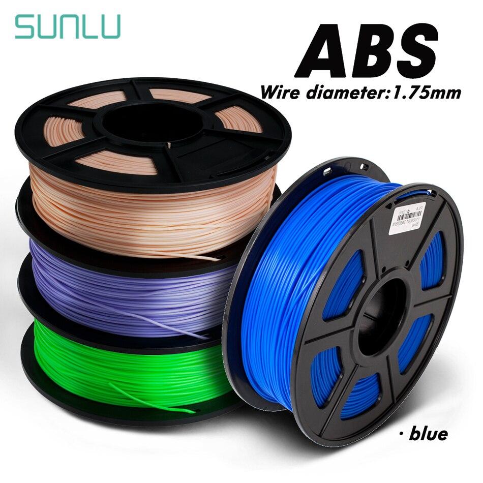 3D Drucker Bunte ABS 1,75mm 1kg 3D Filament Mit Box Verpackung 100% Keine Blase