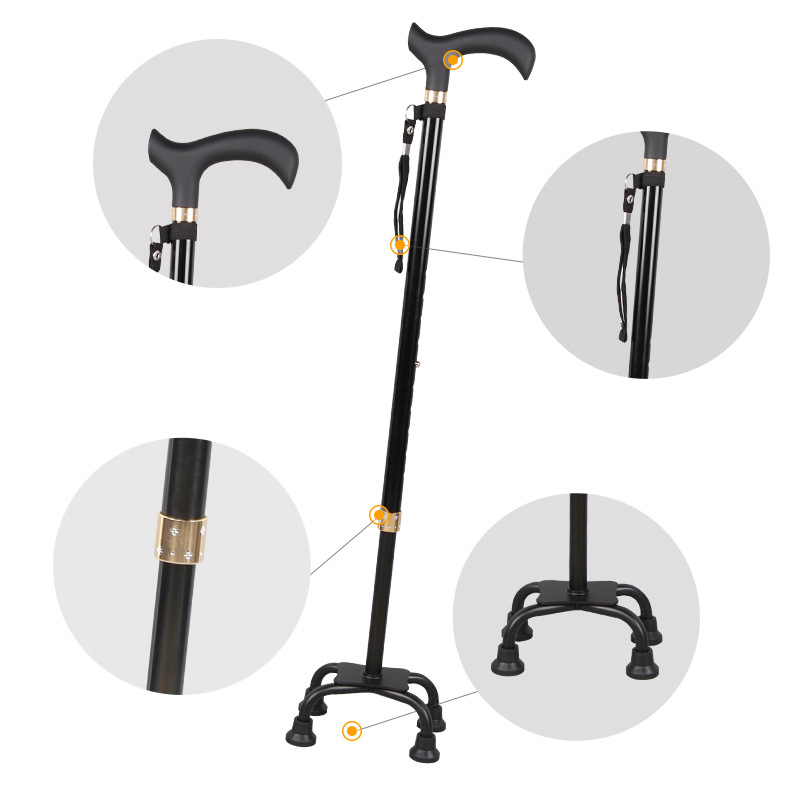 You Ji Walking Stick For The Elderly Wand Stick Aluminium Alloy Alpenstock ABS Handle Manufacturers Direct Selling A Large Amoun