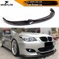 Спойлер для переднего бампера  из углеродного волокна/FRP  для BMW E60  Real M5  2006 - 2010