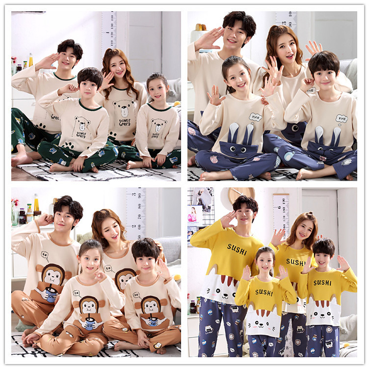 H075c1095650f48bca8b40864f2edc0bdD - Parent Child Kids Outfits Family Matching dad Mommy and Me Baby Pajamas Sets Sweaters Mother and Daughter Clothes Madre E Hija