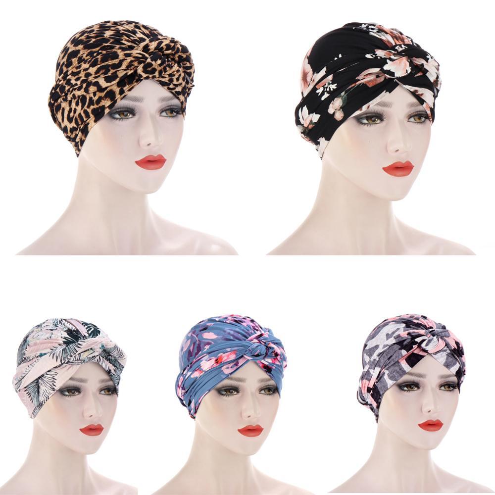 Купить новая шелковистая шапка тюрбан с вышитым бисером цветком и крестиком