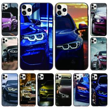 Red And Blue Bmw Car Phone Case Black Cover For IphoneX XS 11 12 11/12Pro Max 5 5s SE 6 6s 7 8 Plus SE2020 Cases image
