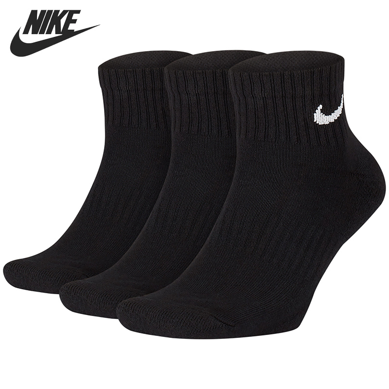 Original New Arrival  NIKE U NK EVERYDAY CUSH QTR 3PR Unisex Sports Socks