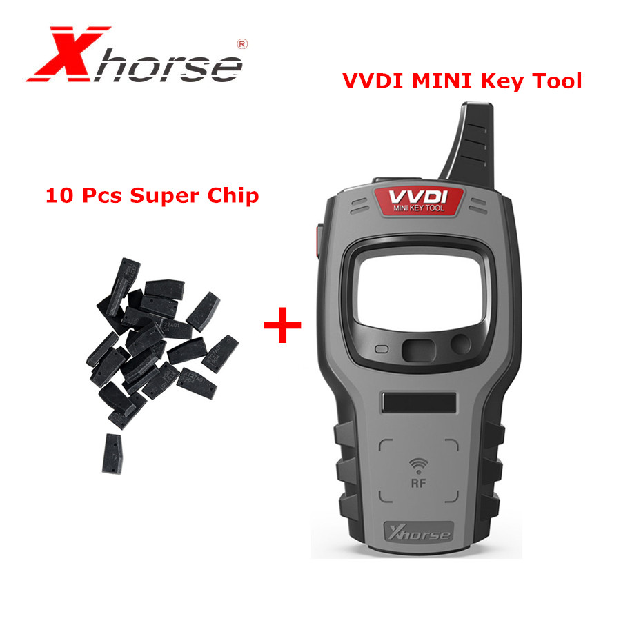 Xhorse VVDI Mini <font><b>Key</b></font> Tool <font><b>Remote</b></font> <font><b>Key</b></font> <font><b>Programmer</b></font> Support IOS and Android Global Version Plus 10 pcs Xhorse Super Chip XT27A01 image