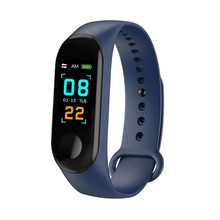 Simple Smart Men and Womens Bracelet Watch Fashion Multifunctional Bluetooth Gauge Heart Rate Sleep Monitoring Care for health