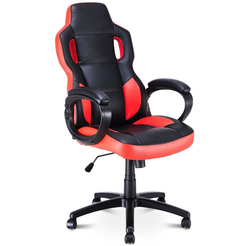 Executive Office Chair Racing Style Swivel Computer Gaming Chair High Quality Office Working PU Breathable Lift Chair HW58300