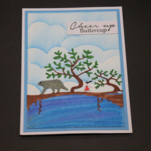 ZhuoAng Natural magic Cutting/DIY Paper Card Craft Embossing Die Cut DIY scrapbooking cutting machine