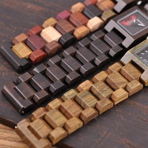 Image 4 - BOBO BIRD 25mm małe kobiety zegarki drewniane zegarki kwarcowe zegarki najlepsze prezenty dla dziewczyny Relogio Feminino w drewnianym pudełku